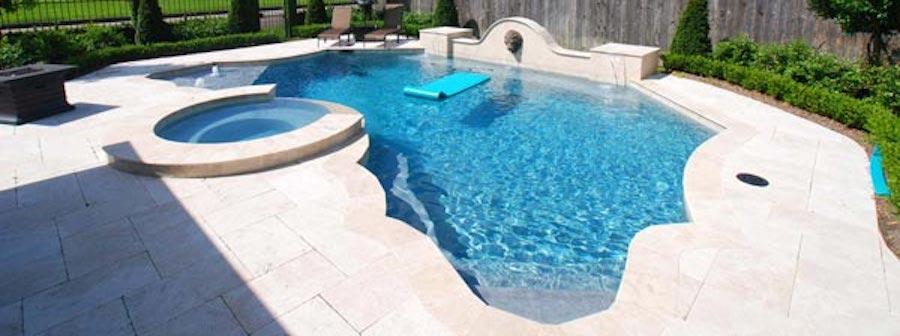 Custom Swimming Pool by Backyard Living